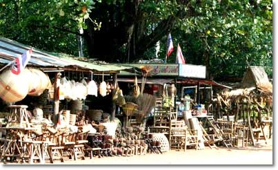 บ้านโง้ง บ้านต้น ผลิตภัณฑ์ไม้ไผ่ ปราจีนบุรี
